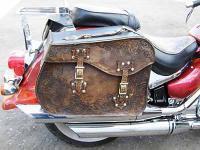 Кожаные мотокофры и мотосиденья